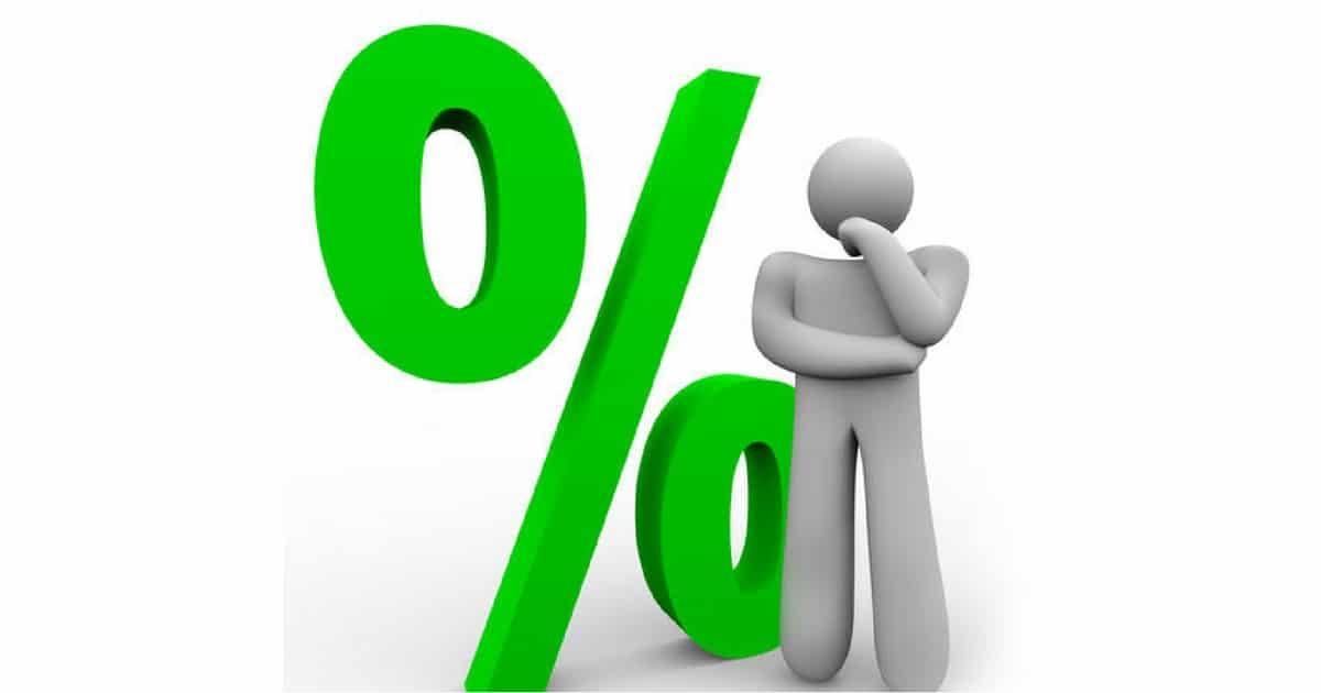 Juros dos novos créditos da casa estão pela primeira vez abaixo de 1%