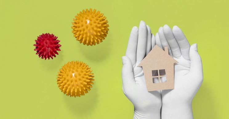 Verdades e mitos sobre os materiais e a decoração que prometem proteger a tua casa da Covid-19